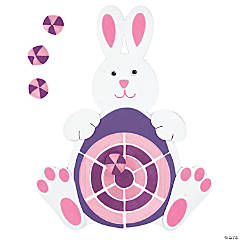 Foam Easter Bunny Dartboard