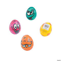 Foam Easter Egg Character Stress Balls