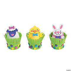 Foam Easter Egg Decorating Craft Kit