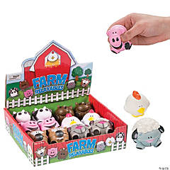 Foam Farm Animal-Shaped Relaxable Balls
