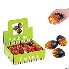 Foam-Filled Flame Footballs