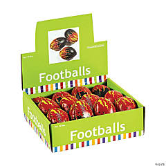 Foam-Filled Flame Footballs
