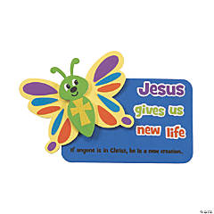 Foam Good News Butterfly Magnets