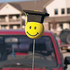 Foam Graduation Antenna Toppers