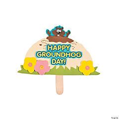 Foam Groundhog Pop-Up Craft Kit