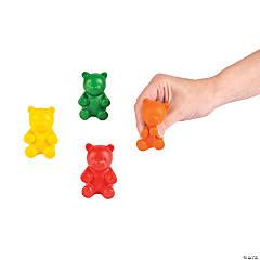 Foam Gummy Teddy Bear Stress Toys
