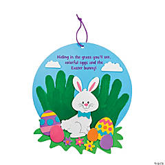 Foam Handprint Easter Sign Craft Kit