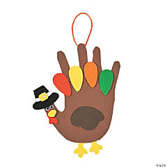 Foam Handprint Turkey Craft Kit