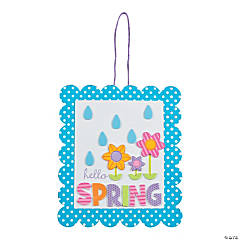 Foam Hello Spring Sign Craft Kit