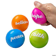 Foam Inspirational Stress Balls