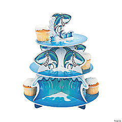Foam Jawsome Shark Cupcake Holder
