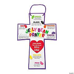 Foam Jelly Bean Prayer Cross Craft Kit