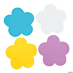Foam Jumbo Flower Shapes