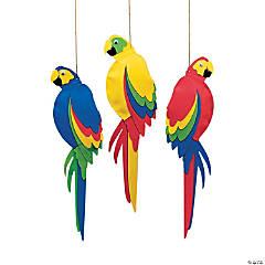 Foam Jumbo Parrots