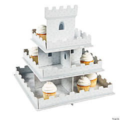Foam Knight's Kingdom Cupcake Display