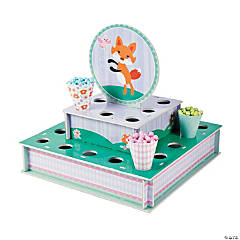 Foam Lil' Fox Treat Stand with Cones