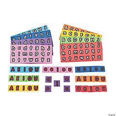 Foam Magnetic Letters - Alphabet Squares