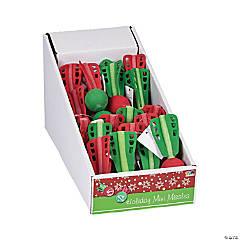 Foam Mini Christmas Missiles PDQ