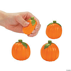 Foam Mini Pumpkin Stress Toys