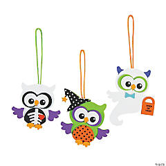 Foam Monster Owl Ornament Craft Kit