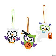 Foam Monster Owl Ornament Craft Kit