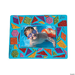 Foam Mosaic Picture Frame Magnet Kit