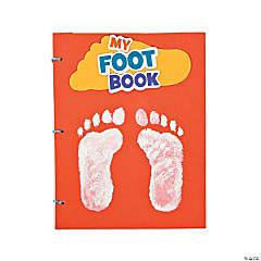 "Foam ""My Foot Book"" Craft Kit"