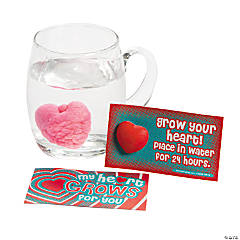 "Foam ""My Heart Grows For You"" Valentine's Day Cards"