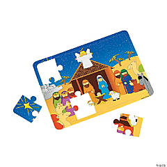 Foam Nativity Jigsaw Puzzles