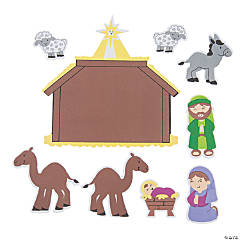 Foam Nativity Play Set