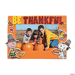 Foam Peanuts® Thanksgiving Picture Frame Magnet Craft Kit