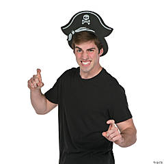 Foam Pirate Hat Visor