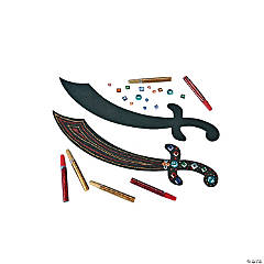 Foam Pirate Sword Craft Kit