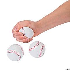 Foam Realistic Baseball Stress Balls