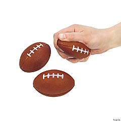 Foam Realistic Football Stress Balls