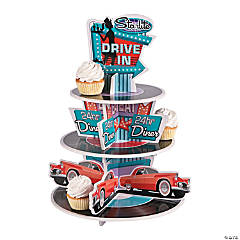 Foam Rockin' 50's Cupcake Holder
