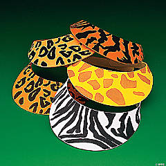 Foam Safari Visors
