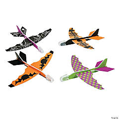 Foam Sleek Halloween Gliders