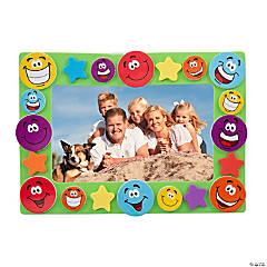 Foam Smile Face Picture Frame Magnet Craft Kit