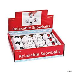 Foam Snowball Stress Balls