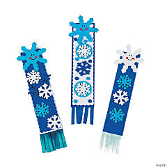 Foam Snowflake Bookmark Craft Kit