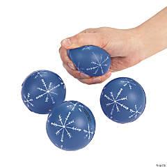 Foam Snowflake Stress Balls
