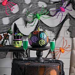 Foam Spookadelic Neon Pumpkin