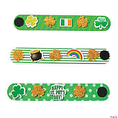 Foam St. Patrick's Day Bracelet Craft Kit
