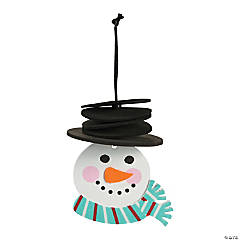 Foam Stacking Snowman Ornament Craft Kit