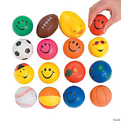 Foam Stress Balls Assortment