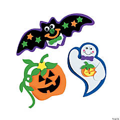 Foam Suction Cup Halloween Character Craft Kits