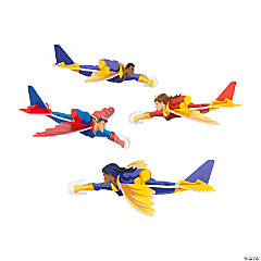 Foam Superhero Gliders