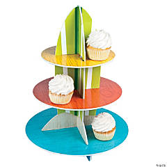 Foam Surf's Up Cupcake Holder