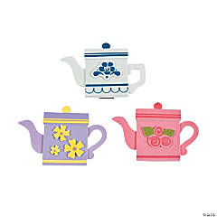Foam Teapot Magnet Craft Kit
